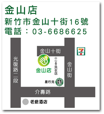 金山店地圖